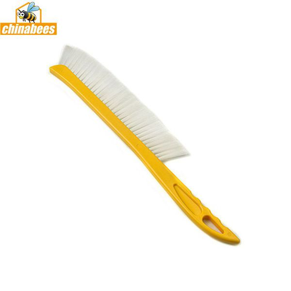 Beekeeping Tools Yellow Plastic Sweep Brush
