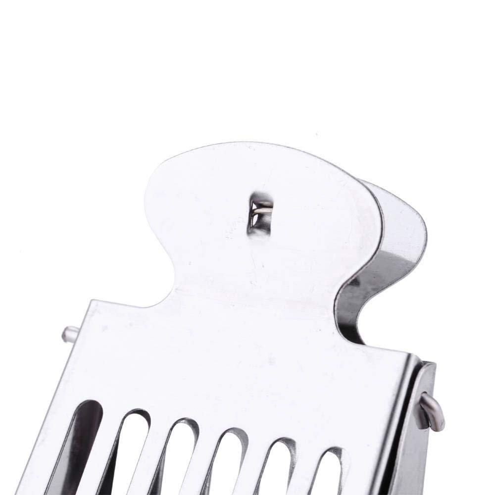 Stainless steel queen clip catcher