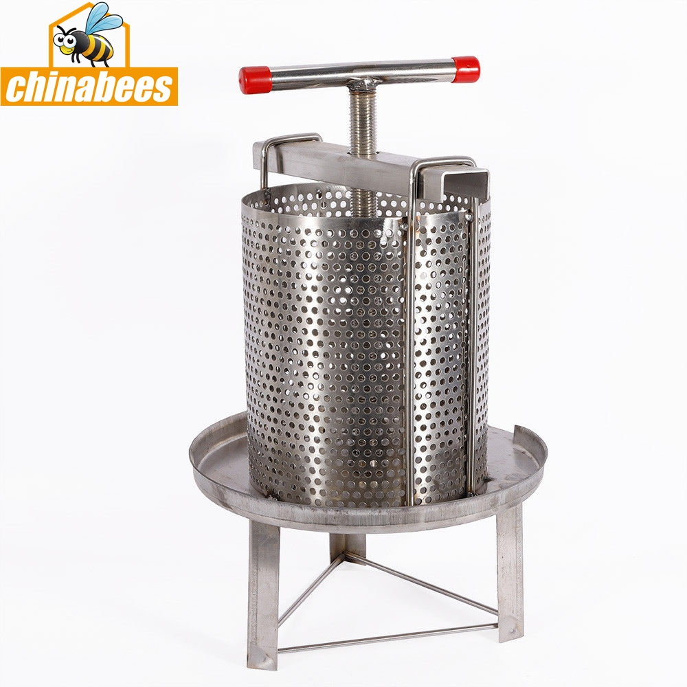 Stainless Steel Manual Honey Press Wax Press