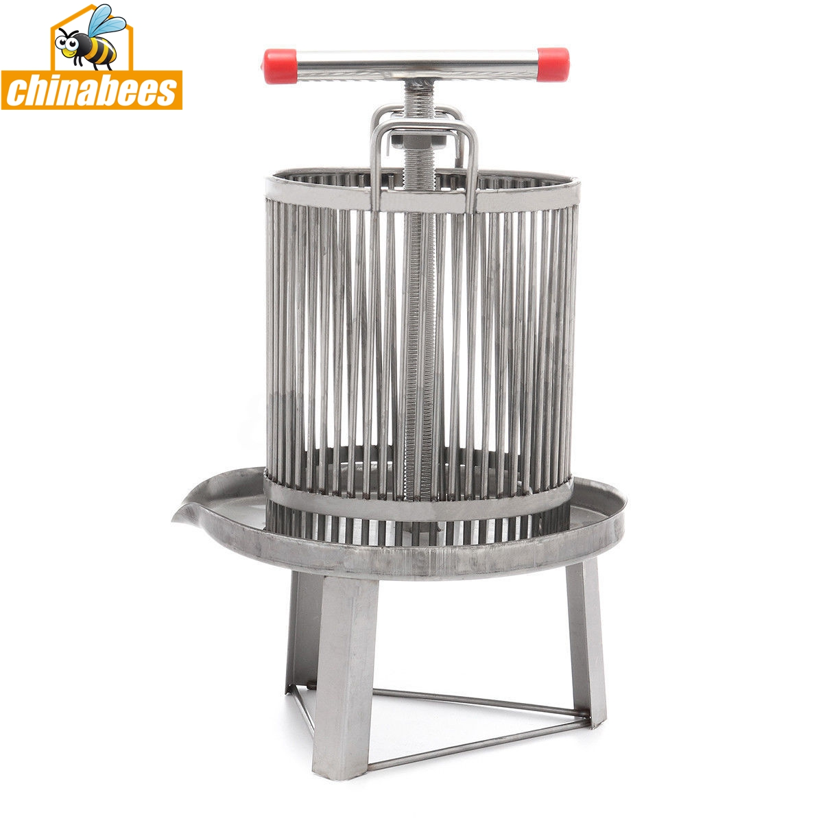 Stainless Steel Household Manual Honey Wax Press