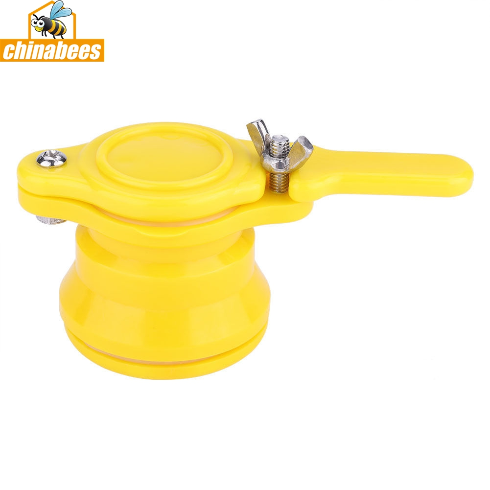 Yellow Bee Honey Tap Gate Valve